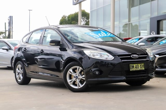 Used Ford Focus LW Trend Kirrawee, 2011 Ford Focus LW Trend Black 5 Speed Manual Hatchback