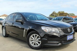 2015 Holden Commodore VF MY15 Evoke Black 6 Speed Sports Automatic Sedan