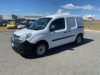 2015 Renault Kangoo X61 MY14 1.6 SWB White 4 Speed Automatic Van.