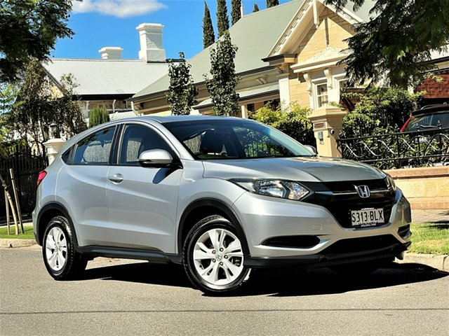 Used Honda HR-V MY16 VTi Hyde Park, 2016 Honda HR-V MY16 VTi Silver 1 Speed Constant Variable Hatchback