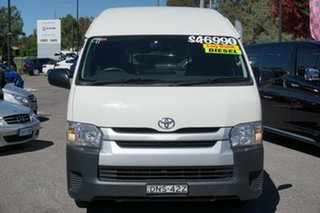 2017 Toyota HiAce KDH221R High Roof Super LWB White 4 Speed Automatic Van.