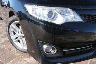 2011 Toyota Camry ASV50R Atara SL Black 6 Speed Sports Automatic Sedan.