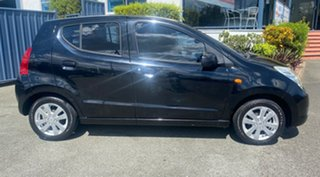 2010 Suzuki Alto GF GL Black 5 Speed Manual Hatchback.