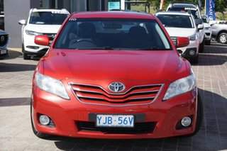2009 Toyota Camry ACV40R MY10 Ateva Red 5 Speed Automatic Sedan.