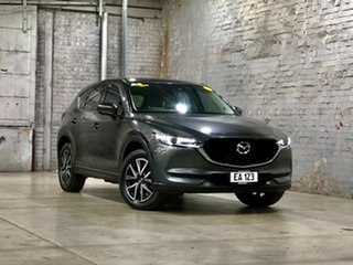 2018 Mazda CX-5 KF4WLA GT SKYACTIV-Drive i-ACTIV AWD Grey 6 Speed Sports Automatic Wagon.