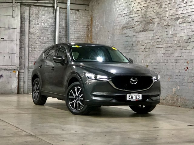 Used Mazda CX-5 KF4WLA GT SKYACTIV-Drive i-ACTIV AWD Mile End South, 2018 Mazda CX-5 KF4WLA GT SKYACTIV-Drive i-ACTIV AWD Grey 6 Speed Sports Automatic Wagon