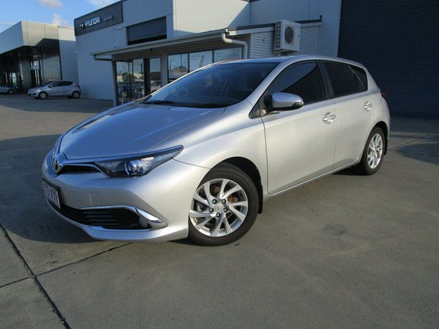 Used Toyota Corolla ZRE182R Ascent Sport Caboolture, 2018 Toyota Corolla ZRE182R Ascent Sport Silver 6 Speed Manual Hatchback