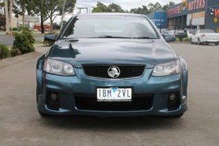 2012 Holden Commodore VE II MY12.5 SV6 Blue 6 Speed Automatic Sedan.
