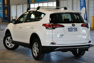 2018 Toyota RAV4 ZSA42R MY18 GX (2WD) Glacier White Continuous Variable Wagon.