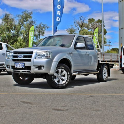 Used Ford Ranger PJ XLT Super Cab Midland, 2007 Ford Ranger PJ XLT Super Cab Silver 5 Speed Manual Utility