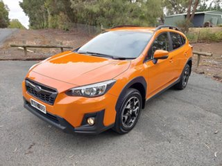 2018 Subaru XV G5X MY19 2.0i-L Lineartronic AWD Orange 7 Speed Constant Variable Wagon