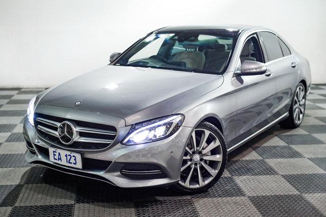 Used Mercedes-Benz C-Class W205 C250 BlueTEC 7G-Tronic + Edgewater, 2015 Mercedes-Benz C-Class W205 C250 BlueTEC 7G-Tronic + Grey 7 Speed Sports Automatic Sedan