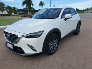 2017 Mazda CX-3 DK2W7A sTouring SKYACTIV-Drive Snowflake White 6 Speed Sports Automatic Wagon