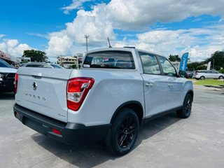 2019 Ssangyong Musso Q201 MY20 Ultimate Plus Crew Cab XLV White 6 Speed Sports Automatic Utility