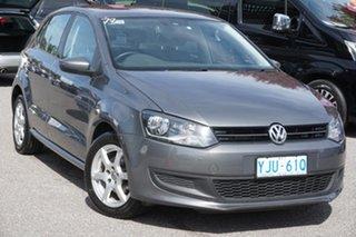 2013 Volkswagen Polo 6R MY14 77TSI DSG Comfortline Pepper Grey 7 Speed Sports Automatic Dual Clutch.