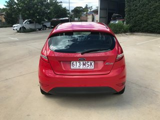 2009 Ford Fiesta WS LX Red 5 Speed Manual Hatchback