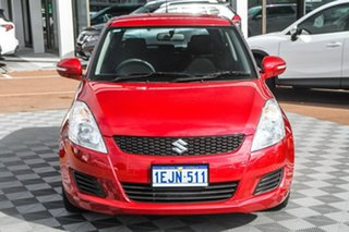 2013 Suzuki Swift FZ GL Red 4 Speed Automatic Hatchback