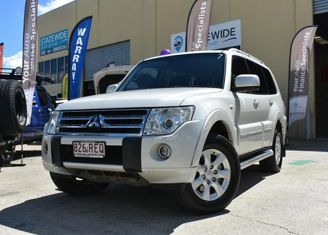 Used Mitsubishi Pajero NT Platinum Edition Capalaba, 2010 Mitsubishi Pajero NT Platinum Edition White 5 Speed Auto Sports Mode Wagon