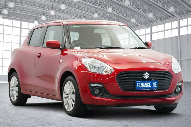 Used Suzuki Swift AZ GL Navigator Victoria Park, 2019 Suzuki Swift AZ GL Navigator Red 1 Speed Constant Variable Hatchback
