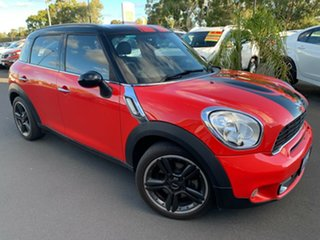 2012 Mini Countryman R60 Cooper S Red 6 Speed Sports Automatic Wagon.