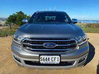 2019 Ford Everest UA II 2019.00MY Titanium Silver 10 Speed Sports Automatic SUV