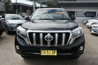 2016 Toyota Landcruiser Prado GDJ150R VX Black 6 Speed Sports Automatic Wagon