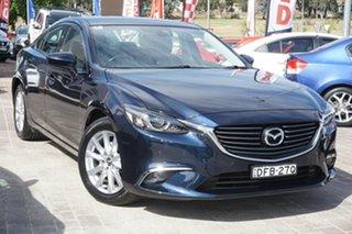 2016 Mazda 6 GJ1032 Touring SKYACTIV-Drive Blue 6 Speed Sports Automatic Sedan.