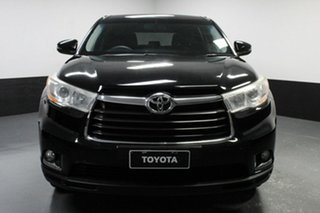 2014 Toyota Kluger GSU50R GX 2WD Black 6 Speed Sports Automatic Wagon.