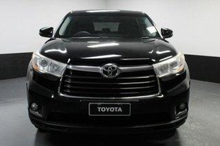 2014 Toyota Kluger GSU50R GX 2WD Black 6 Speed Sports Automatic Wagon.
