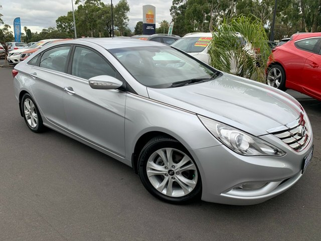 Used Hyundai i45 YF MY11 Elite Bunbury, 2010 Hyundai i45 YF MY11 Elite Silver 6 Speed Sports Automatic Sedan