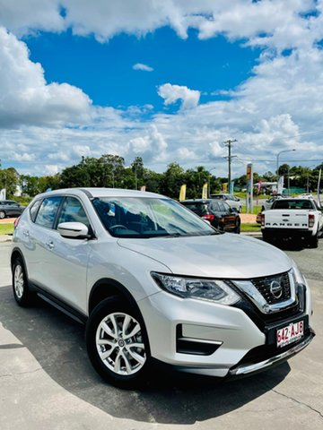 Demo Nissan X-Trail ST Gympie, 2020 Nissan X-Trail ST Brilliant Silver Constant Variable Wagon