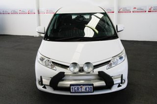2013 Toyota Tarago ACR50R MY13 GLi Glacier White 7 Speed CVT Auto Sequential Wagon.