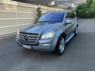 2009 Mercedes-Benz GL-Class X164 MY10 GL500 Silver 7 Speed Sports Automatic Wagon