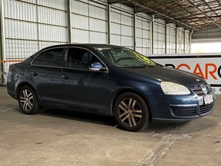 2007 Volkswagen Jetta 1KM MY07 TDI DSG Blue 6 Speed Sports Automatic Dual Clutch Sedan