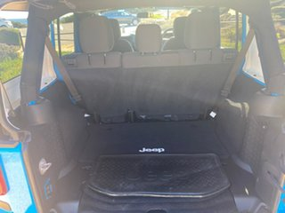 2017 Jeep Wrangler JK MY17 Unlimited Sport Blue 5 Speed Automatic Softtop