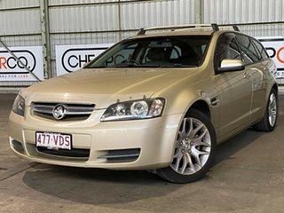 2009 Holden Commodore VE MY09.5 International Sportwagon Gold 4 Speed Automatic Wagon.
