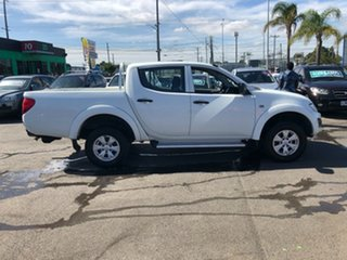 2013 Mitsubishi Triton MN MY12 GLX White 4 Speed Automatic Double Cab Utility