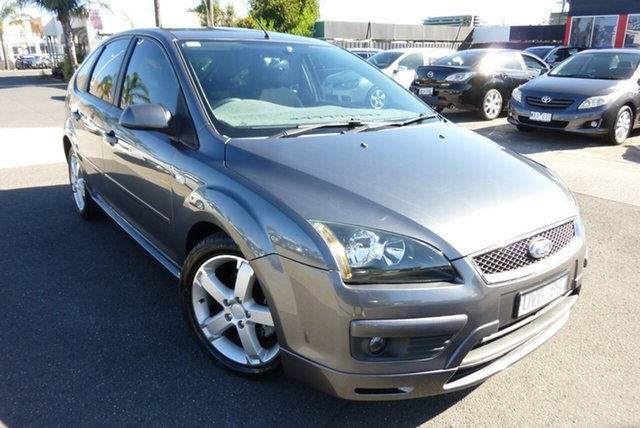 Used Ford Focus LS Zetec Cheltenham, 2006 Ford Focus LS Zetec Titanium Grey 4 Speed Sports Automatic Hatchback