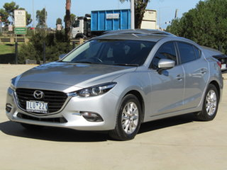 2017 Mazda 3 BN5278 Touring SKYACTIV-Drive Silver 6 Speed Sports Automatic Sedan