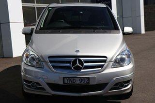 2011 Mercedes-Benz B180 CDI CDI Silver Automatic Wagon.