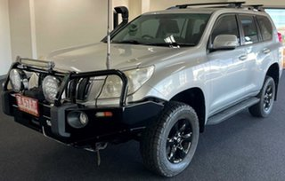 2010 Toyota Landcruiser Prado KDJ150R GXL Silver 5 Speed Sports Automatic Wagon