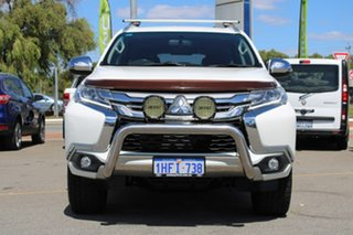 2016 Mitsubishi Pajero Sport QE MY16 GLS White 8 Speed Sports Automatic Wagon.