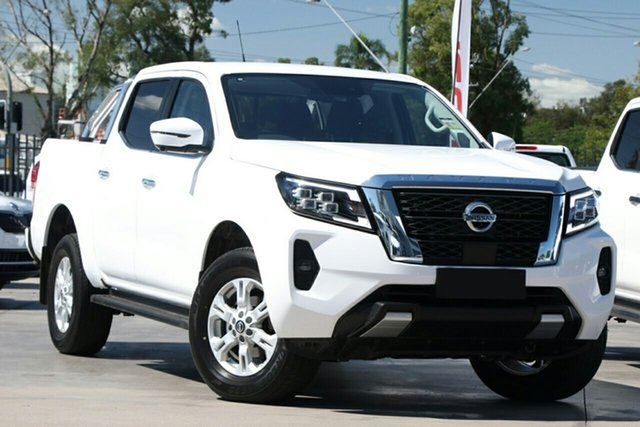New Nissan Navara D23 MY21 ST 4x2 Devonport, 2021 Nissan Navara D23 MY21 ST 4x2 White Pearl 7 Speed Sports Automatic Utility