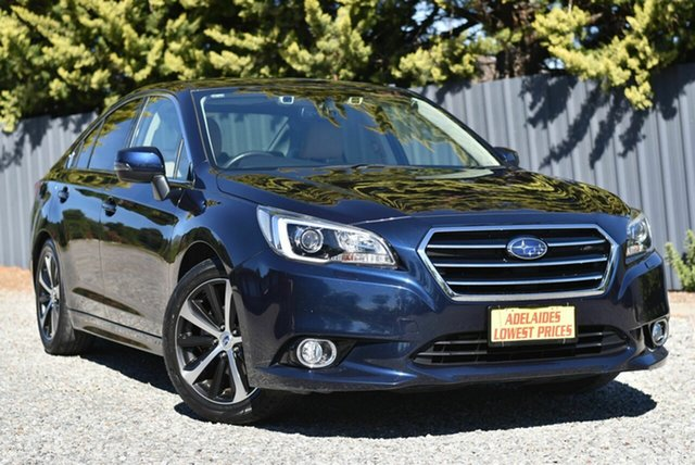 Used Subaru Liberty B6 MY16 2.5i CVT AWD Premium Morphett Vale, 2016 Subaru Liberty B6 MY16 2.5i CVT AWD Premium Blue 6 Speed Constant Variable Sedan