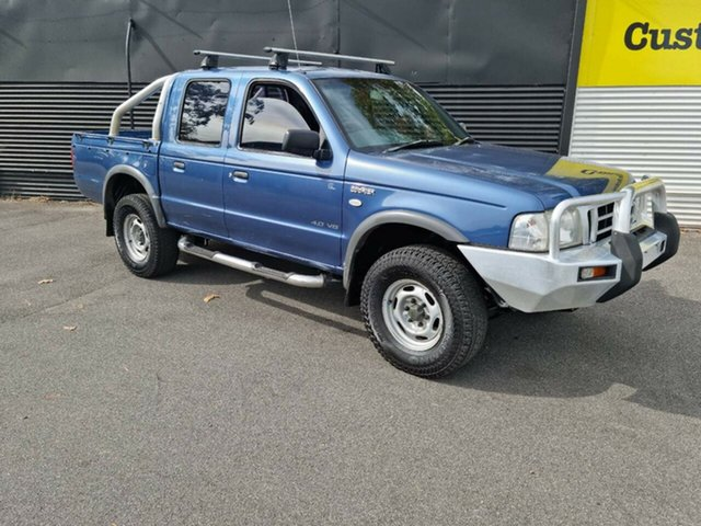 Used Ford Courier PH GL 4x2 Launceston, 2005 Ford Courier PH GL 4x2 Blue 5 Speed Manual Utility