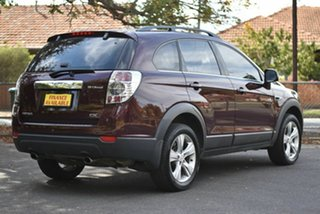 2012 Holden Captiva CG Series II 7 AWD CX Maroon 6 Speed Sports Automatic Wagon