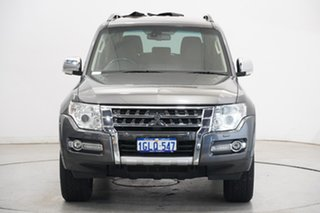 2017 Mitsubishi Pajero NX MY17 GLS Silver 5 Speed Sports Automatic Wagon.