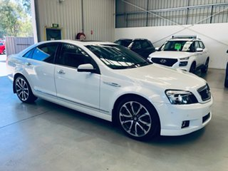 2017 Holden Caprice WN II MY17 V White 6 Speed Sports Automatic Sedan.