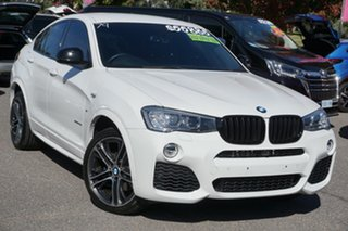 2016 BMW X4 F26 xDrive35d Coupe Steptronic White 8 Speed Automatic Wagon.