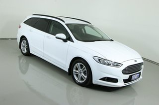 2015 Ford Mondeo MD Ambiente TDCi White 6 Speed Automatic Wagon